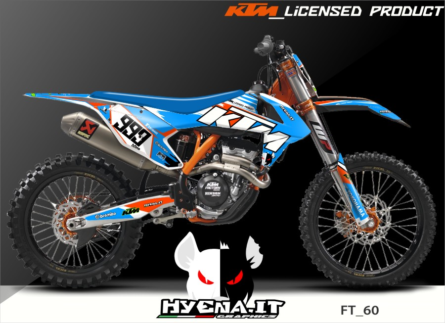 Graphics in crystal already realized on 2016 KTM SX 125 but you can ...